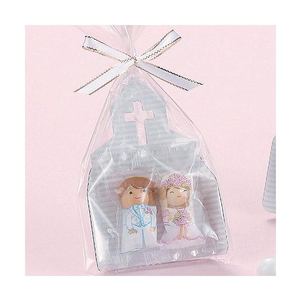 プチギフト お菓子 結婚式配る「チャペルチョコ」 販促 業務用にもCS1220-1073|hanakobo-wedding|05