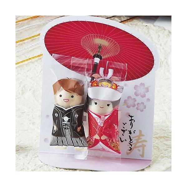 プチギフト お菓子 結婚式「チョコっと愛あい傘(チョコ)」 CS1320-1098|hanakobo-wedding|02