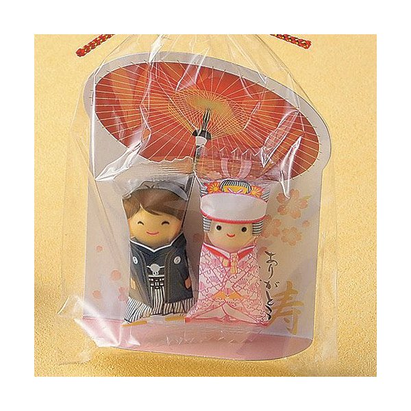 プチギフト お菓子 結婚式「チョコっと愛あい傘(チョコ)」 CS1320-1098|hanakobo-wedding|03