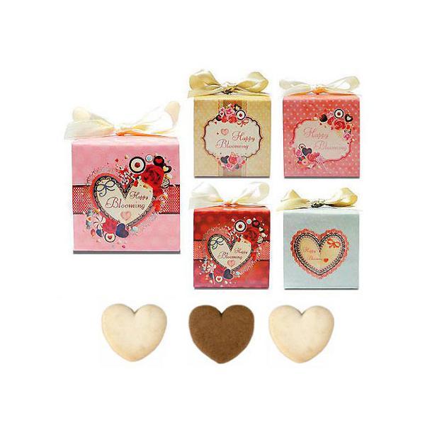 プチギフト お菓子 結婚式 個包装 業務用「ラブフェスタ・キューブCC(クッキー)」ばらまきギフト配る 販促 大量 安い HZW-HBC02|hanakobo-wedding