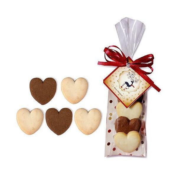 クリスマスのお菓子 プチギフト配る 個包装 業務用 「ハッピーハートクリスマスHH(クッキー)」大量 結婚式  会社 販促 HZW-HHC01|hanakobo-wedding|04