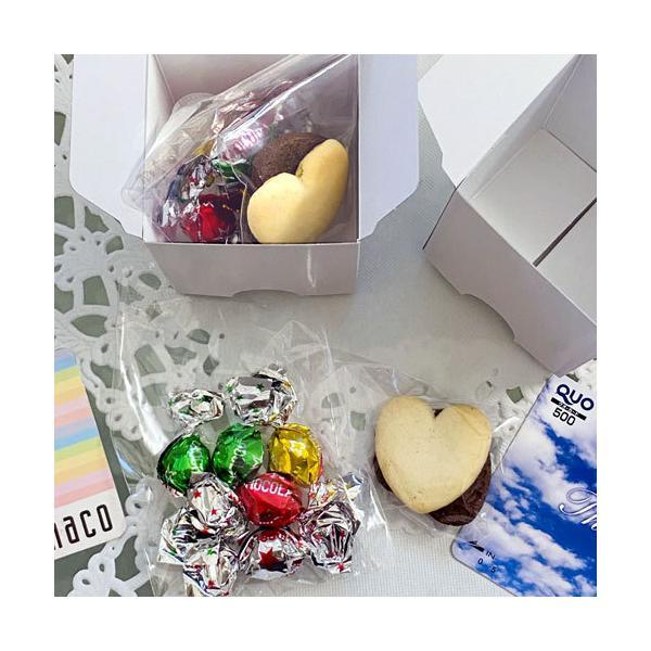 クリスマス お菓子 プチギフト「WakuWakuクリスマス クッキー&チョコ」ホテル 販促 子ども 個包装 大量 業務用 結婚式 ウエルカムギフト HZW-XWKU02 hanakobo-wedding 04