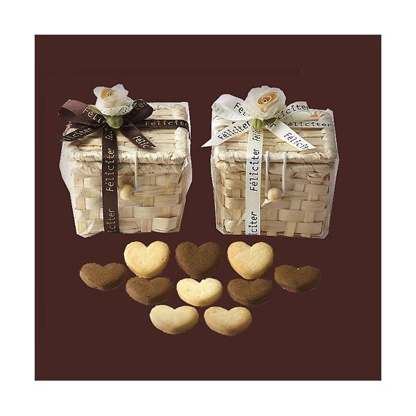プチギフト お菓子 お礼 お返し 退職「フェリシテバスケットクッキー」ありがとう 感謝 結婚式 大量 会社 職場 業務用 個包装 おしゃれ OAP1635-1506|hanakobo-wedding
