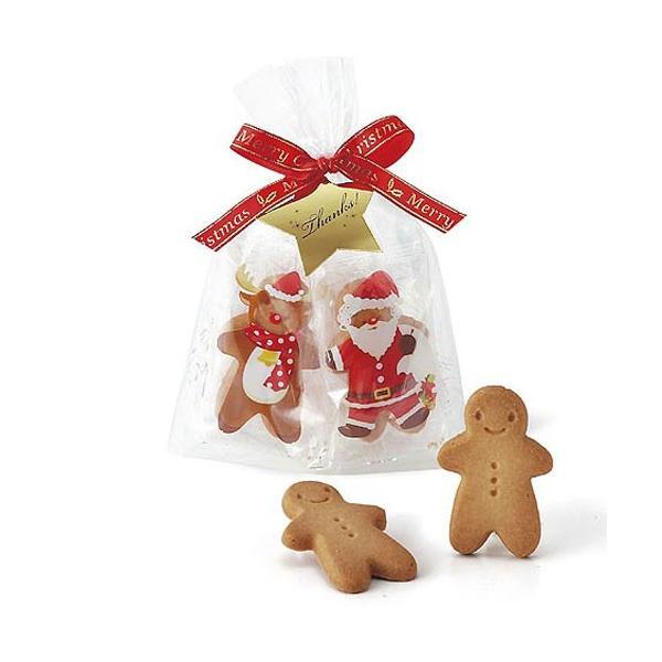 クリスマスのお菓子 プチギフト配る「ハッピーメリークッキー」業務用 個包装 大量 販促 結婚式 OAP1552-1265|hanakobo-wedding