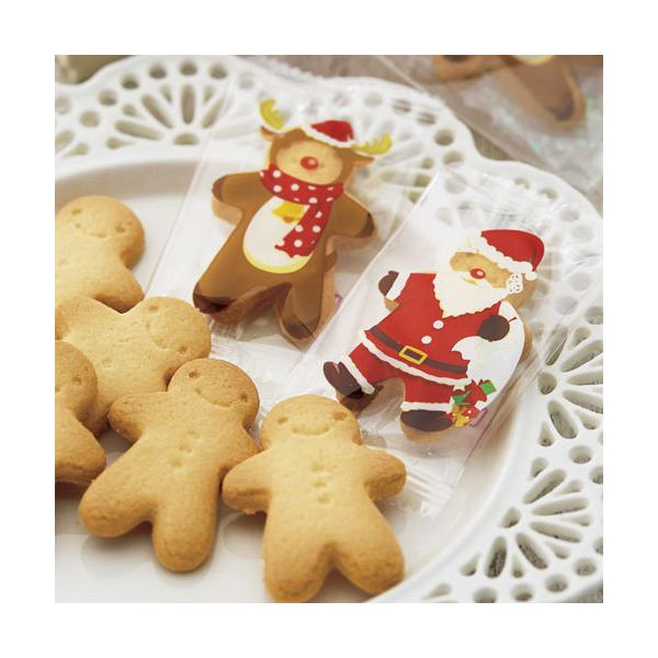 クリスマスのお菓子 プチギフト配る「ハッピーメリークッキー」業務用 個包装 大量 販促 結婚式 OAP1552-1265|hanakobo-wedding|03