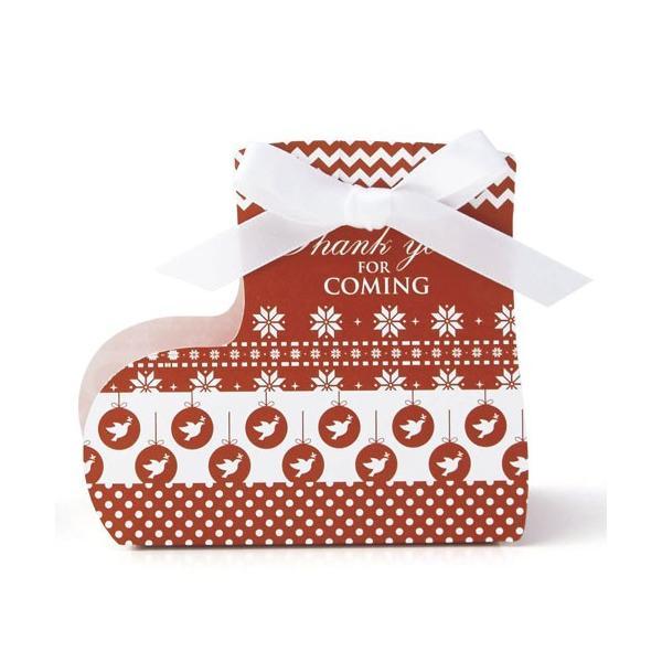 クリスマス プチギフト お菓子「クリスマスメ リーソックス クッキー」ウエルカムギフト 業務用 販促 大量 個包装 OAP1552-1385 hanakobo-wedding 05