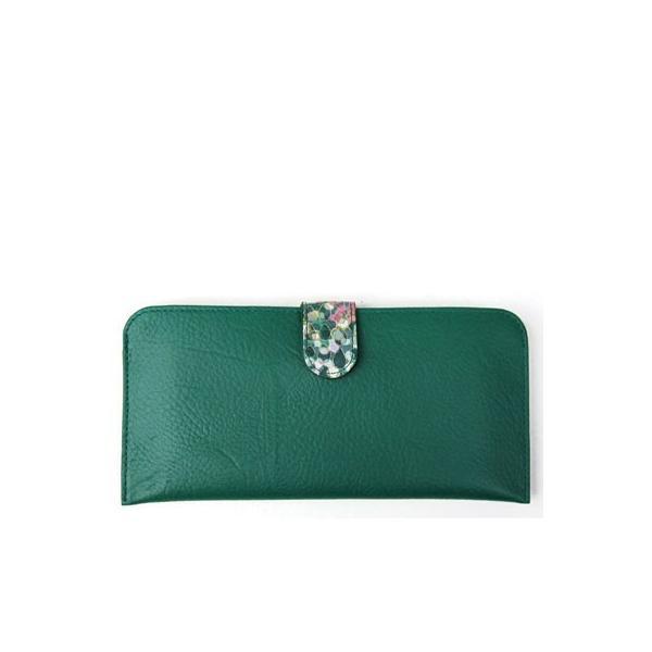 京都 浪速屋 長財布 レディース 本革 レザー 薄型 薄い Pigエナメル 86270-0580