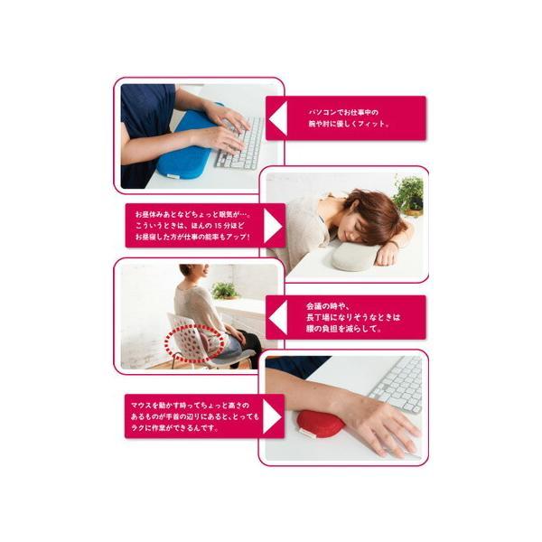 オフィスクッションセット 日本製 高反発+低反発 マウスパッド キーボードパッド|hanalolo|03