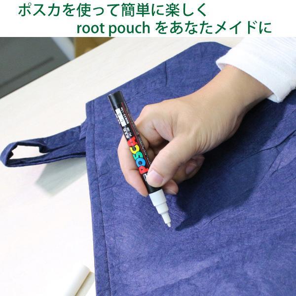 root pouch (ルーツポーチ) 直径40cm  Black/黒<宅配便でお届け> 持ち手の付いた不織布ポット #10|hanamiki|05