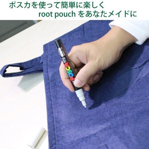 root pouch (ルーツポーチ) 直径25.5cm 【メール便送料無料】 持ち手の付いた不織布ポット 選べる5色 #3 |hanamiki|06