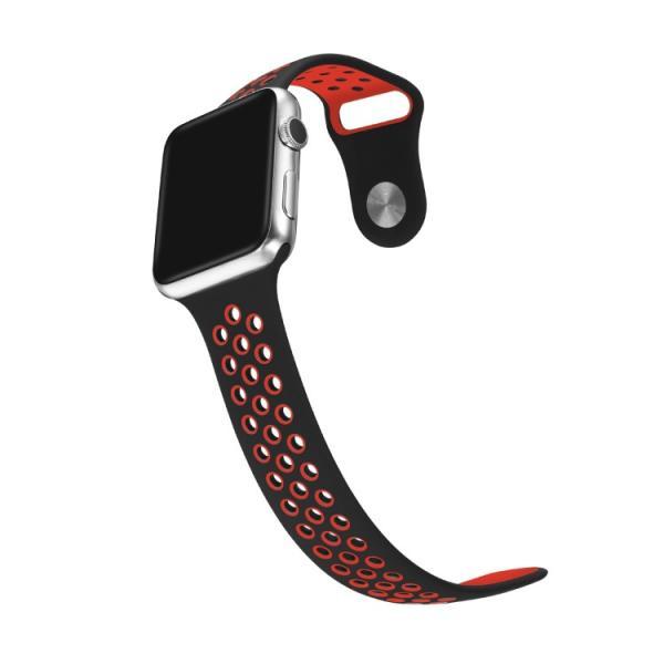 アップルウォッチ バンド ベルト 交換 apple watch series4 40mm 44mm series 3 2 1 スポーツバンド ジョギング 38mm 42mm|hanaro|11