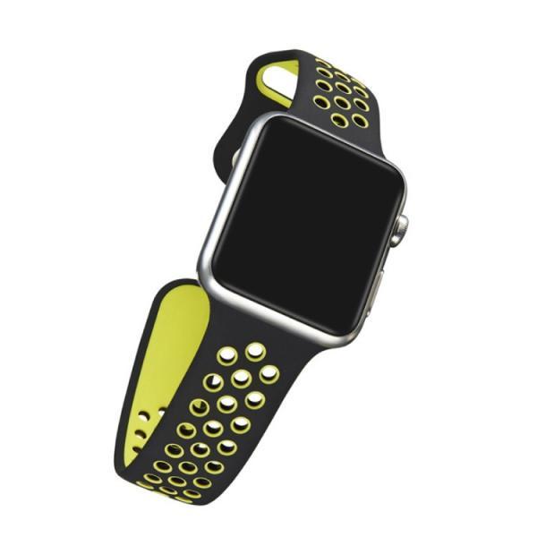 アップルウォッチ バンド ベルト 交換 apple watch series4 40mm 44mm series 3 2 1 スポーツバンド ジョギング 38mm 42mm|hanaro|13