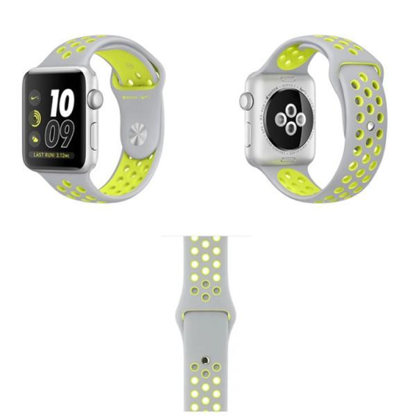 アップルウォッチ バンド ベルト 交換 apple watch series4 40mm 44mm series 3 2 1 スポーツバンド ジョギング 38mm 42mm|hanaro|14