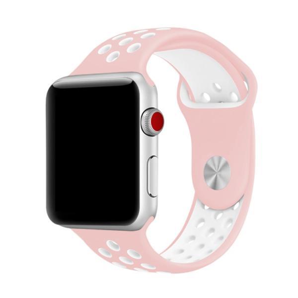 アップルウォッチ バンド ベルト 交換 apple watch series4 40mm 44mm series 3 2 1 スポーツバンド ジョギング 38mm 42mm|hanaro|16