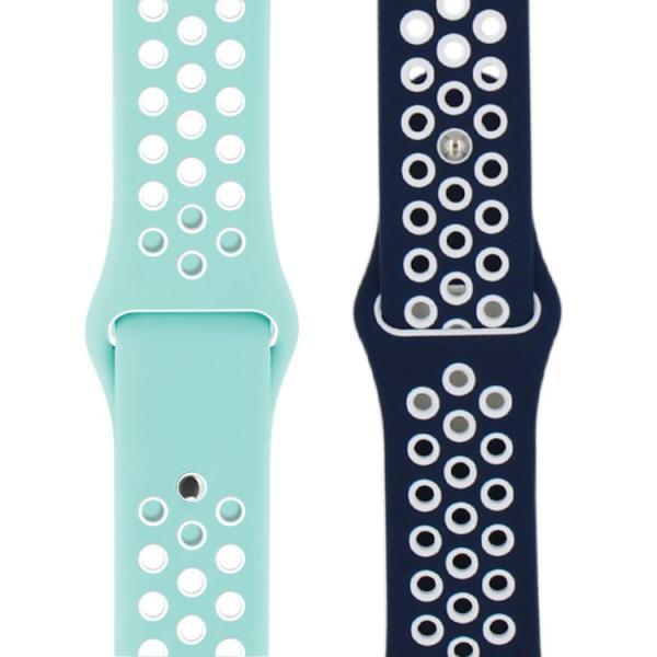 アップルウォッチ バンド ベルト 交換 apple watch series4 40mm 44mm series 3 2 1 スポーツバンド ジョギング 38mm 42mm|hanaro|17