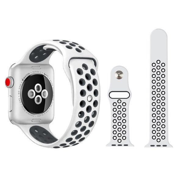 アップルウォッチ バンド ベルト 交換 apple watch series4 40mm 44mm series 3 2 1 スポーツバンド ジョギング 38mm 42mm|hanaro|09
