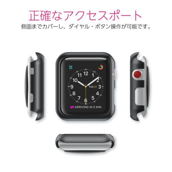 アップルウォッチ カバー 保護カバー apple watch series 3 ケース カバー PCケース 38mm 42mm  Series Series1 Series2 送料無料|hanaro|05