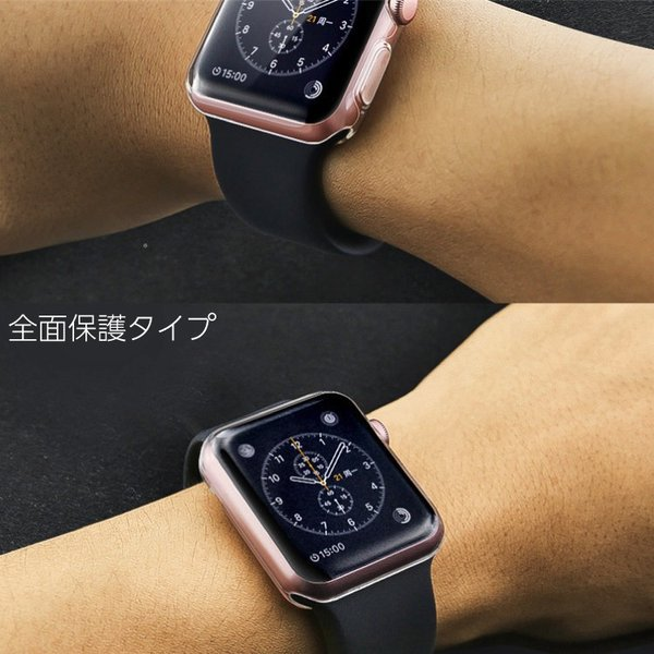 アップルウォッチ カバー クリアケース apple watch series4 保護カバー TPUケース 40mm 44mm 38mm 42mm Series3 Series2|hanaro|11