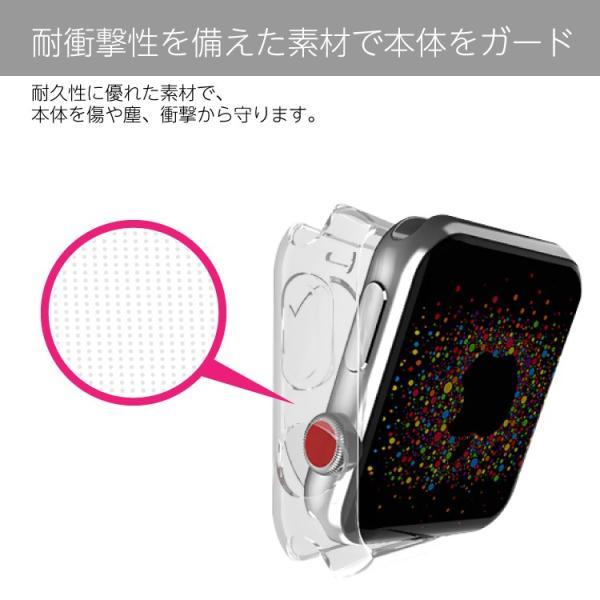 アップルウォッチ カバー クリアケース apple watch series4 保護カバー TPUケース 40mm 44mm 38mm 42mm Series3 Series2|hanaro|06