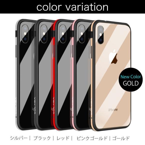 セール iPhone X ケース クリア 金属 メタルフレーム iPhoneXS iPhoneXSMax iPhoneXR iPhone8 iPhone8Plus iPhone7 iPhone7Plus スマホケース hanaro 14