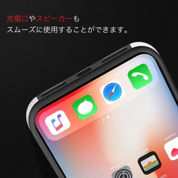 セール iPhone X ケース クリア 金属 メタルフレーム iPhoneXS iPhoneXSMax iPhoneXR iPhone8 iPhone8Plus iPhone7 iPhone7Plus スマホケース hanaro 08