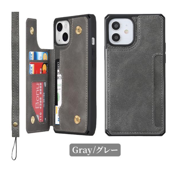 iPhone8 ケース 背面カード収納 ICカード iPhone X XS XR iPhone7 iPhone6 アイフォン スマホ スマホケース iPhone8Plus iPhone7Plus iPhone6Plus|hanaro|12
