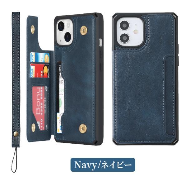 iPhone8 ケース 背面カード収納 ICカード iPhone X XS XR iPhone7 iPhone6 アイフォン スマホ スマホケース iPhone8Plus iPhone7Plus iPhone6Plus|hanaro|14