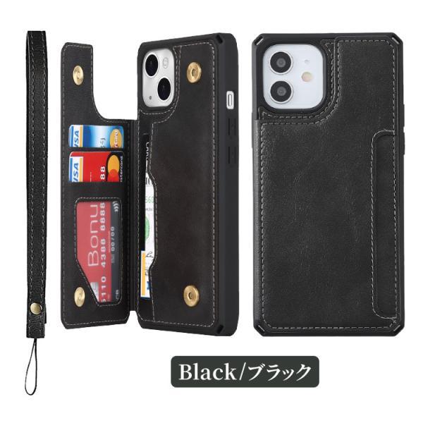 iPhone8 ケース 背面カード収納 ICカード iPhone X XS XR iPhone7 iPhone6 アイフォン スマホ スマホケース iPhone8Plus iPhone7Plus iPhone6Plus|hanaro|10