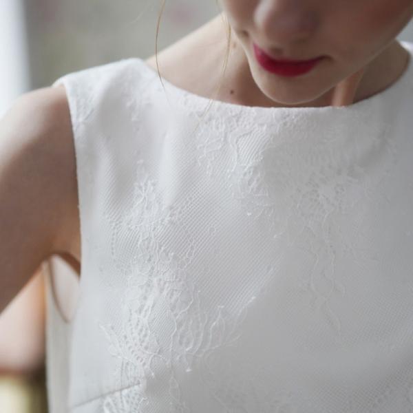ウエディングドレス 購入 二次会 セパレート 白 結婚式 マーメイド カジュアル 海外 フォトウエディング エンパイア  前撮り 後撮り|hanashop|07