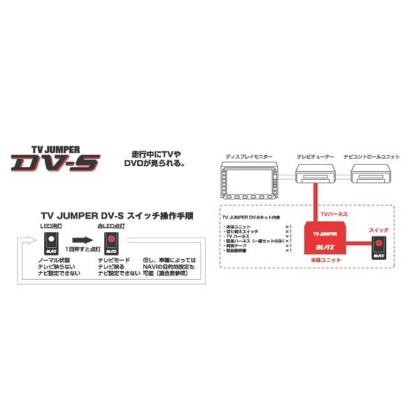 ブリッツ テレビジャンパー DV-S(スイッチ付タイプ)走行中にTVを見たい方 マツダ ロードスター ND5RC 2015/5- 品番: NCA10|hanatora|02