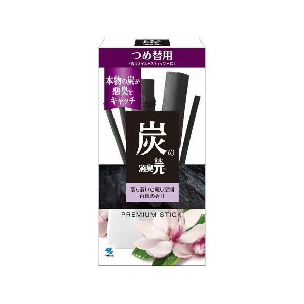 炭の消臭元 つめ替用 白檀の香り 【2箱セット】(4987072052761-2)|hanaxhanadrug