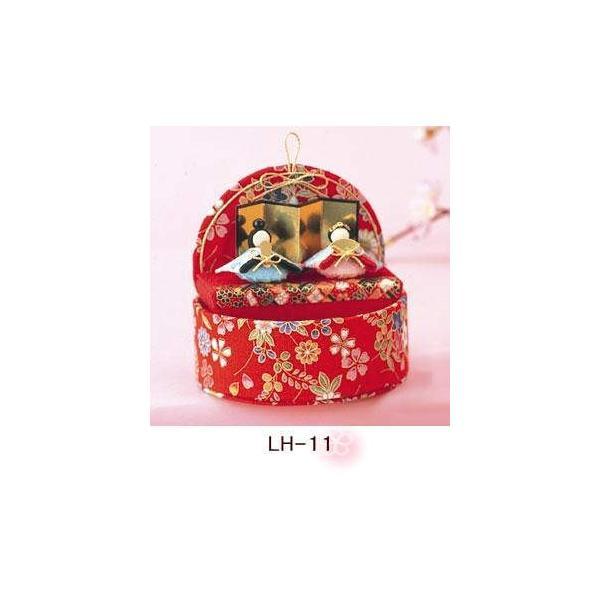 パナミ ちりめん細工 桃のたまて箱 LH-11/LH-12 雛人形 手作りキット 節句 ミニ コンパクト 取寄せ商品|handcraft|02