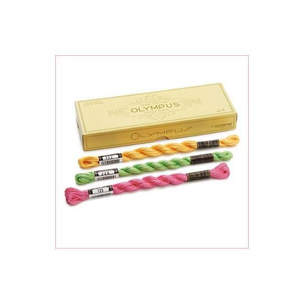 オリムパス 5番ししゅう糸 その4(306〜487) 刺しゅう糸 刺繍糸