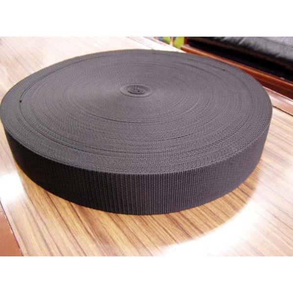 ボア PPテープ 平織 38mm 50m 黒 1.6mm厚 ポリプロピレンカラーテープ 持ち手