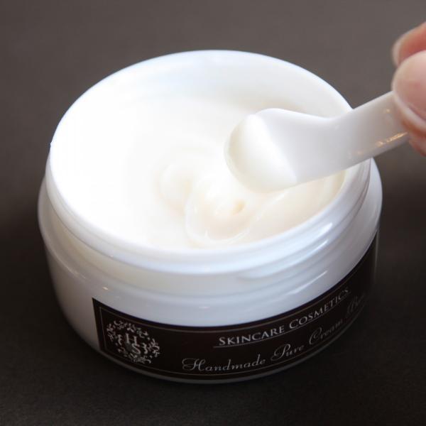 「高級手作り化粧品ベース」 ピュアクリームベース (ビタミンC配合) handmade-skincare 02