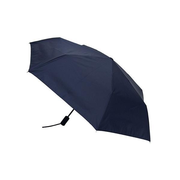 hands+ 自動開閉 超撥水折りたたみ傘 55cm ネイビーボーダー 送料無料 東急ハンズ