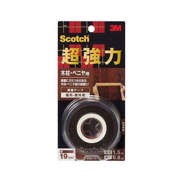 3M 超強力両面テープ 木材・ベニヤ用 KMZ−19│ガムテープ・粘着テープ 布テープ 東急ハンズ