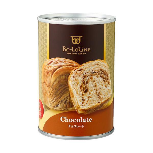 ボローニャ 缶deボローニャ チョコ味│非常食 パンの缶詰 東急ハンズ
