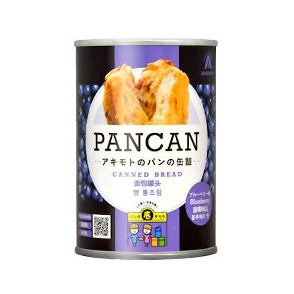 アキモト PANCAN 多国籍ラベル ブルーベリー│非常食 パンの缶詰 東急ハンズ