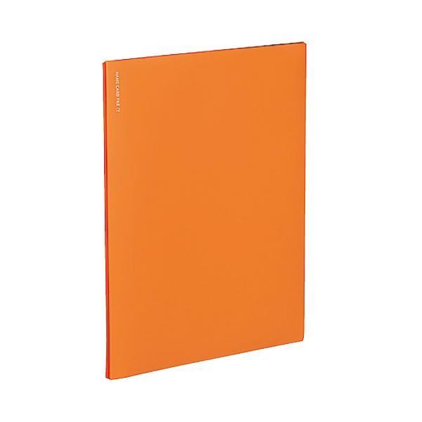 コクヨ 名刺ファイルα ノビータα メイ−NF10YR オレンジ│ファイル 名刺ファイル 東急ハンズ