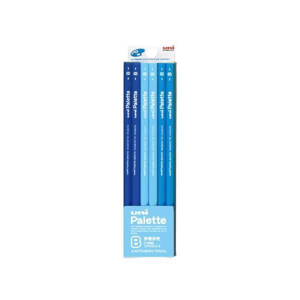 三菱鉛筆 ユニ パレット ダース箱 6角 K5560B B パステルブルー│鉛筆・鉛筆削り 鉛筆 東急ハンズ