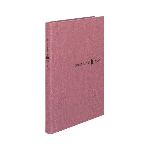 テージー スタンプアルバムB5赤 SB−32N−04│ファイル スクラップブック 東急ハンズ