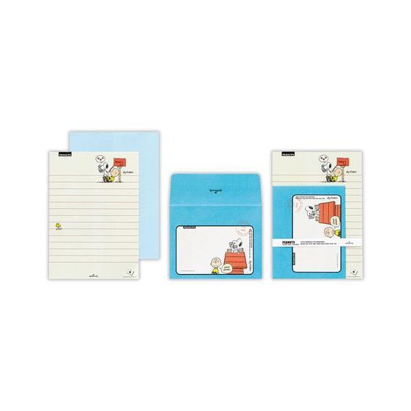東急ハンズ ホールマーク レターセット スヌーピー ポスト&チャーリー 680244