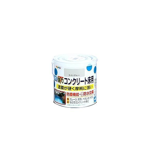 アサヒペン 強力コンクリート床用 ライトグレー 0.7L│水性塗料 屋外水性塗料 東急ハンズ