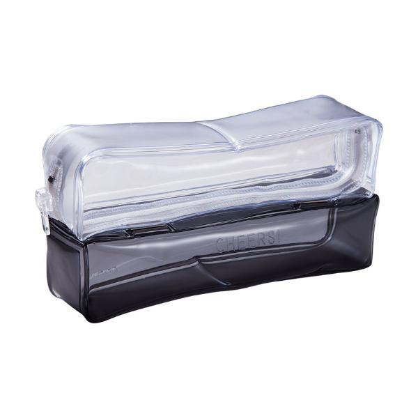 キングジム チアーズ ツインペンケース CH2180T グレー│ペンケース ペンケース・筆箱 東急ハンズ