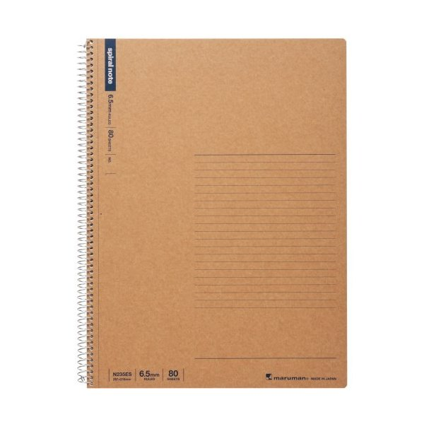 マルマン スパイラルノート 横罫 A4 80枚 N235ES│ノート・メモ リングノート 東急ハンズ