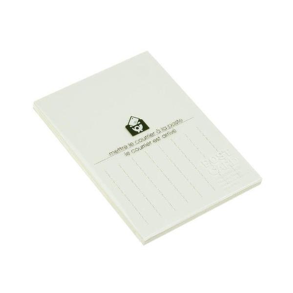 エトランジェ・ディ・コスタリカ ポストカード 半罫 BASIS PC2−A−23 アイボリー│封筒・はがき はがき 東急ハンズ