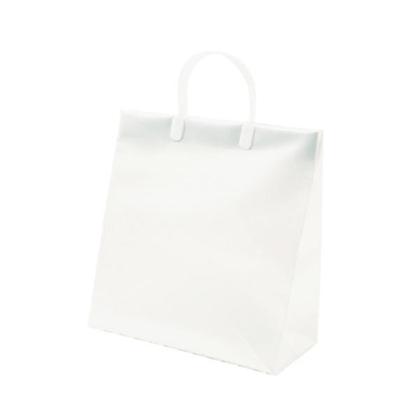 Z&K ビニールキャリーバッグ L 24−212 ホワイト│ラッピング用品 手提げ袋 東急ハンズ