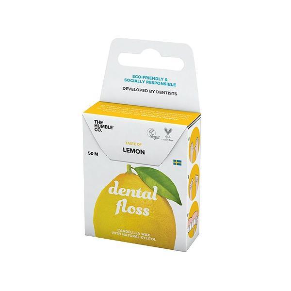 THE HUMBLE CO. ハンブルナチュラルデンタルフロス レモン 50mの画像
