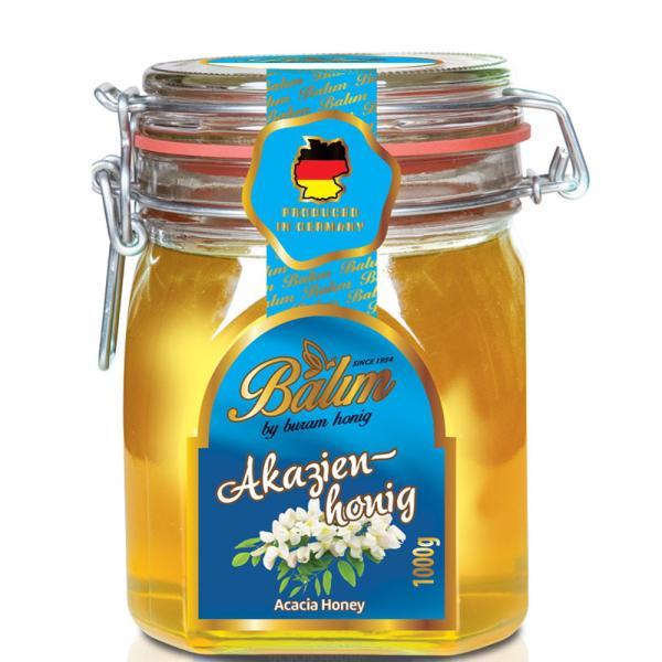 アカシア蜂蜜 送料無料 バリム アカシアハニー 1kg ドイツ産 アカシアはちみつ 1kg Balim(バリム)ハニー はちみつ ハチミツ 蜂蜜